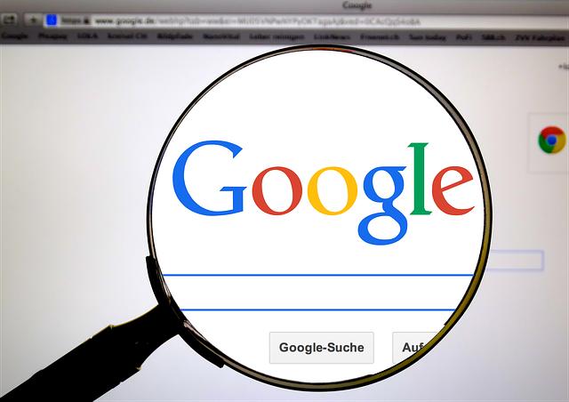 on-line vyhledávání na google